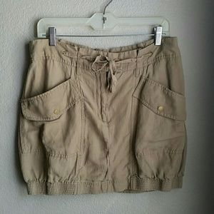 Leifsdottir Khaki Bubble Skirt - 12